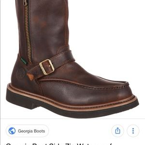 ca18ca8df01 Georgia Boot Shoes | Side Zip Waterproof Work Wellington | Poshmark